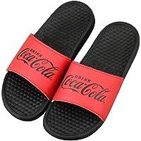 Coca-Cola(コカ・コーラ) シャワーサンダル レッド&ブラック