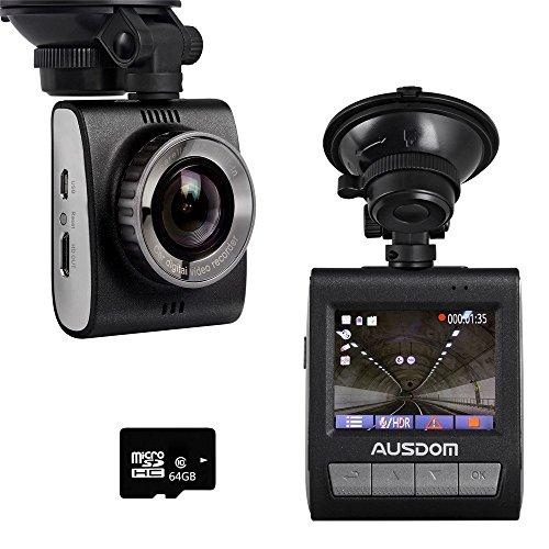 AUSDOM ad109Dashcam車DVRカメラダッシュボード車ビデオレコーダー–Amba...