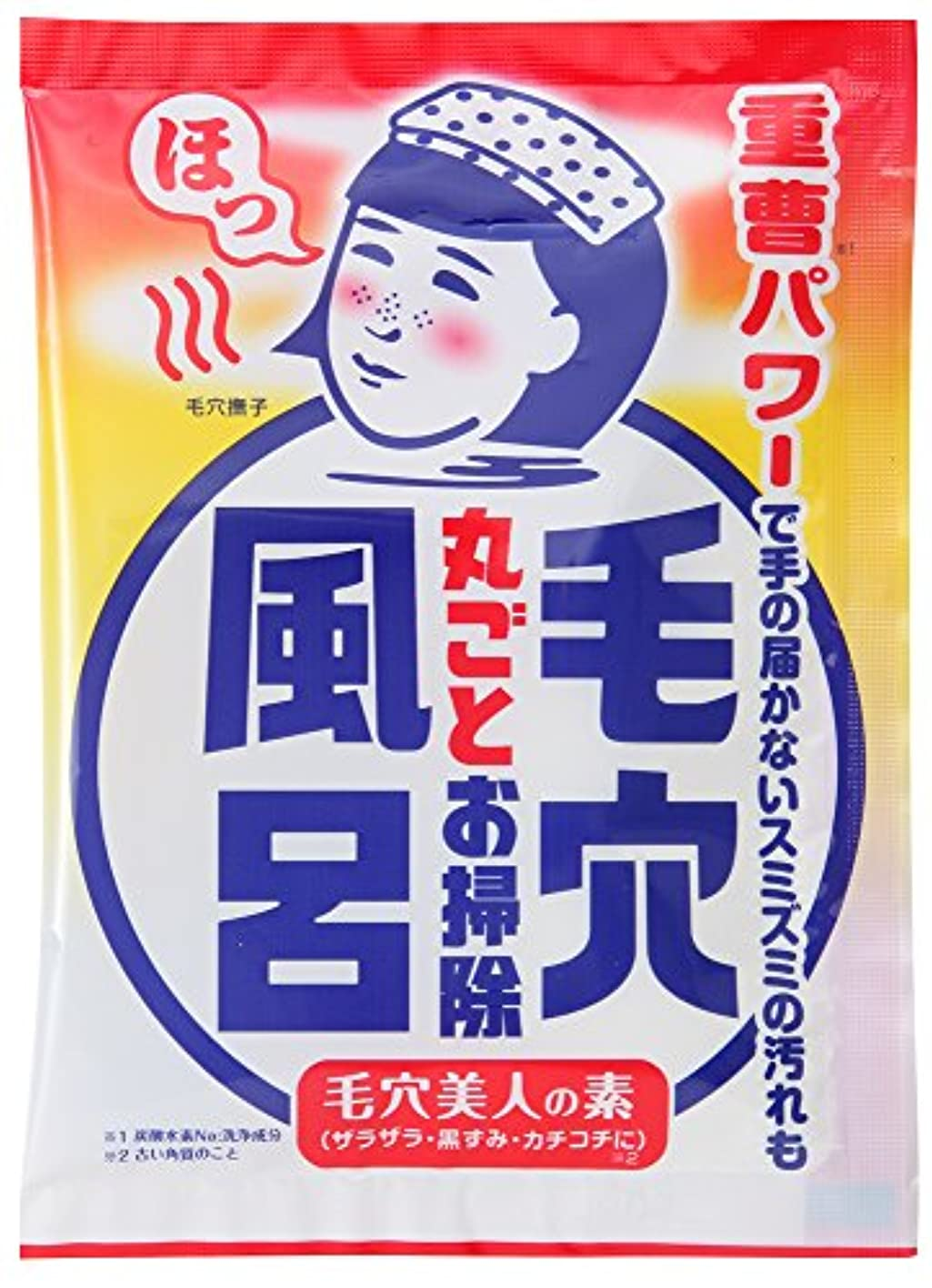 広告する有能な雪毛穴撫子 重曹つるつる風呂 30g