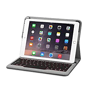 Anker Backlit Bluetooth キーボードケース iPad Air 2専用 (1回の充電で5ヶ月連続使用可能、7色のバックライトモード)