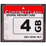 【東芝製チップ】採用オリジナルブランド■CompactFlash CFカード コンパクトフラッシュ 4GB 200X 200倍速 UDMA対応●D2Xs/D2Hs/D3/D3S/D700/D300S/EOS 5D MarkII/7D/ 60D/EOS 5D MarkIII/D600/D800E/D7000/D4●