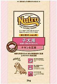 ニュートロジャパン ナチュラルチョイス [超小型犬-中型犬用] 子犬用 チキン&玄米