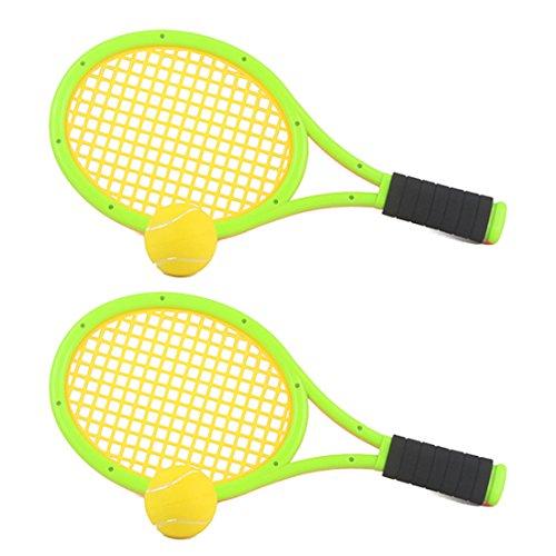 YIFAN 子供向け テニス ラケット バッグ ボール セッ...