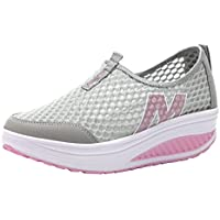 Woman's Fashion Walking Slip On Sneakers Sports Beach Breathable Running Shoes Quick Drying Aqua Water Shoes