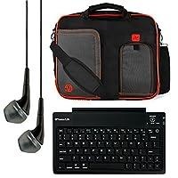 WinGod TW100 10.1インチウィンドウズタブレット+ブルートゥースキーボード+ヘッドフォン用VanGoddy Pindarメッセンジャーキャリングバッグ