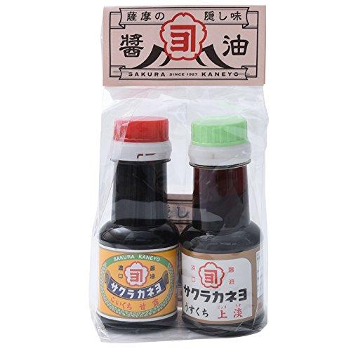 吉村醸造サクラカネヨお手軽セット(甘露・上淡) 110ml×2