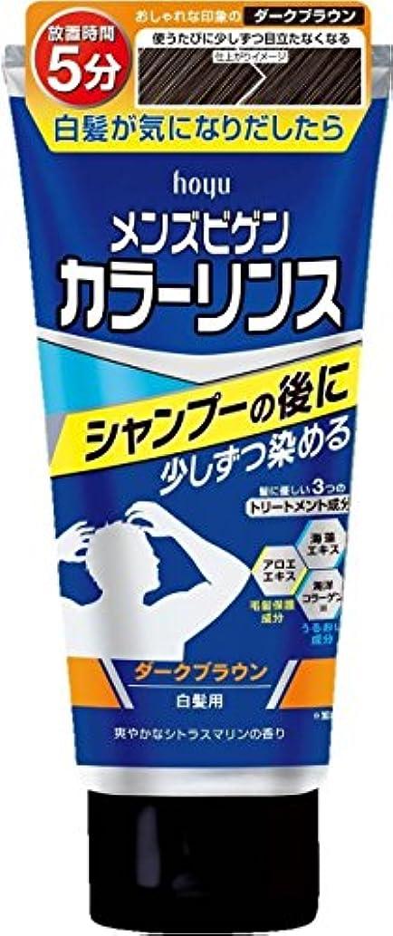 啓発する入場通行料金ホーユー メンズビゲン カラーリンス (ダークブラウン) ×6個