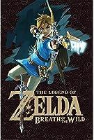 キャラクターポスター、映画ポスター、THE LEGEND OF ZELDA ゼルダの伝説 - Breath of the Wild (Game Cover) Maxi ポスター A3サイズ(42x30cm)