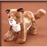 9Baby PlushおもちゃStanding Cougar by Platte Riverトレーディング