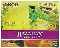 【海外直送品】 ハワイアンアイスティー お水み混ぜるだけの簡単ハワイアンアイスティー 約4リットル分 NOH Foods of Hawaii Hawaiian Iced Tea 4-Count Pack of 2