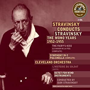 Conducts Stravinsky