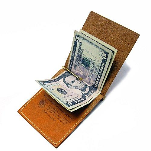 マノ マネークリップ Mano Money Clip (ブラウン)