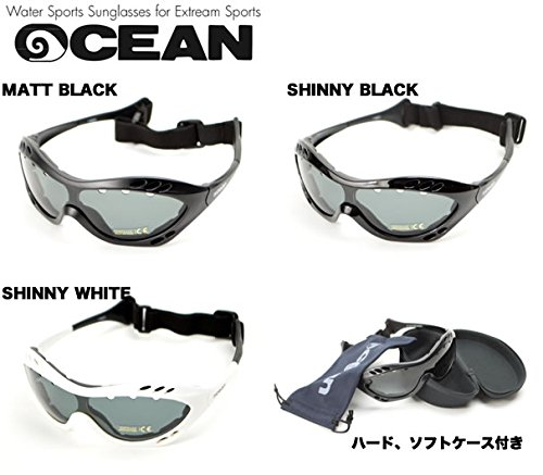 OCEAN(オーシャン) スイミングゴーグル サングラス COSTARICA (コスタリカ) REVOレッドレンズ シャイニーブラック
