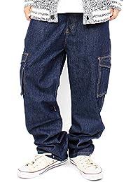 デニム カーゴパンツ メンズ 大きいサイズ ゆったり デニムパンツ XL XXL XXXL XXXXL キングサイズ