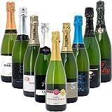 本格シャンパン製法だけの厳選泡9本セットW0S908SE750mlx9本ワインセット