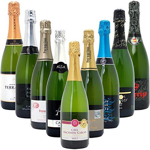 本格シャンパン製法だけの厳選泡9本セット((W0S908SE...