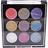 CITY COLOR Cream Glitter Eyeshadow Palette (並行輸入品)