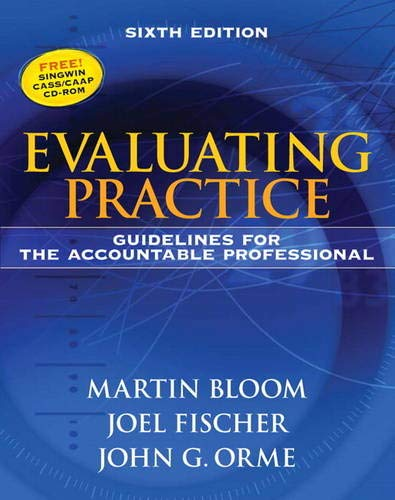Download Evaluating Practice: Guidelines for the Accountable Professional 0205612016