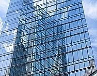 £28.99 - 片道のプロの窓の色合いのティントフィルム - 152 cm x 3 mからの外部反射銀30