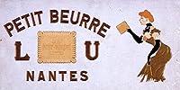 L U–Petit Beurre–Nantes ( Lefevre–Utile ? )ヴィンテージポスターフランス 12 x 18 Art Print LANT-60083-12x18