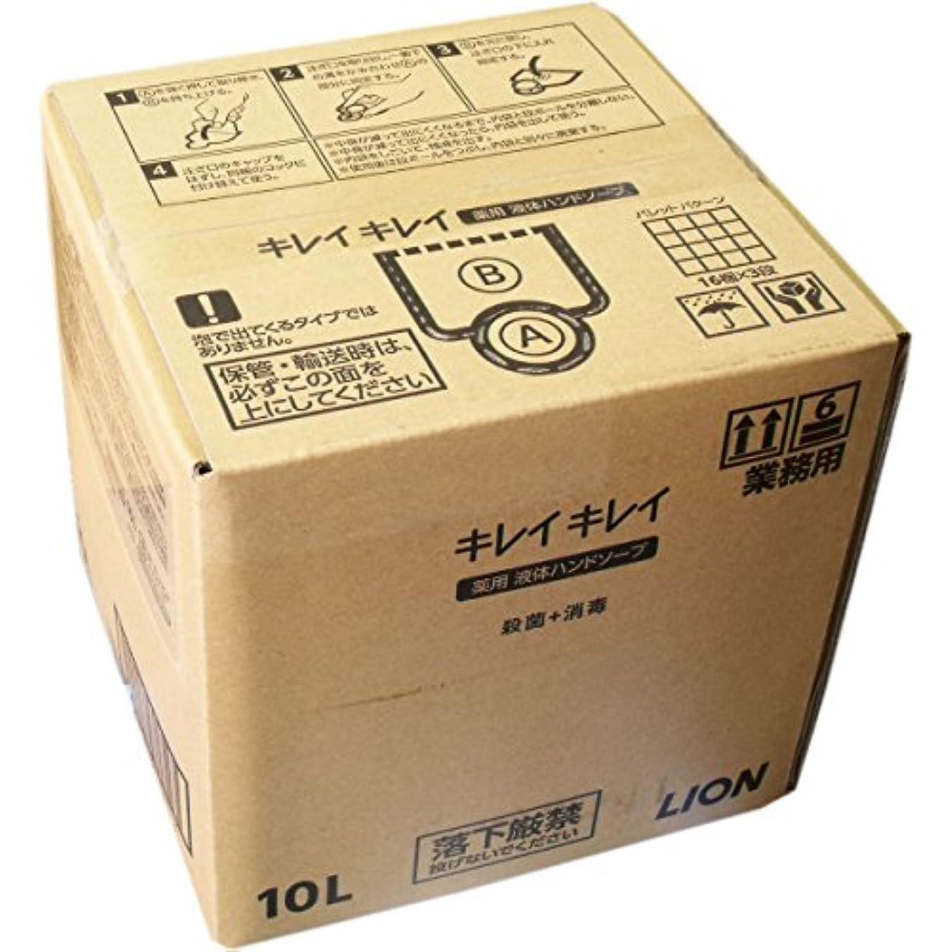 防止幸運なことに遺体安置所ライオン 業務用キレイキレイ 薬用ハンドソープ 10L