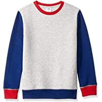 Amazon Essentials Boys' Crewneck Sweatshirt