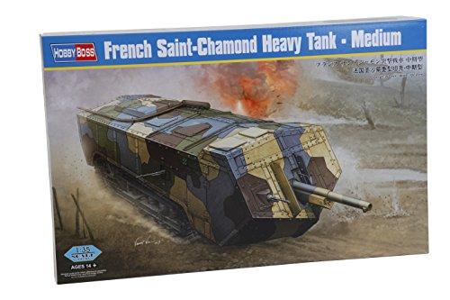 1/35 ファイティングヴィークル シリーズ フランス サン・シャモン突撃戦車 中期型 プラモデル
