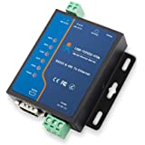 Serial to Ethernet Converter Adapter RS232 RS485 to TCP/IP Serial Device Server Modbus Support DHCP/DNS USR-TCP232-410S