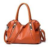【ノーブランド品】ショルダーバッグ レディース 斜めがけ レザー 革 2WAYバッグ トートバッグ 鞄 かばん 通勤 通学