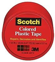 3M COMPANY 191RED Plastic Tape [並行輸入品]