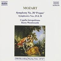 Mozart: Symphonies 29, 30 & 38 (1993-02-05)