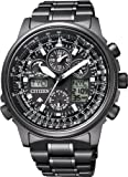 [シチズン]CITIZEN 腕時計 PROMASTER プロマスター エコ・ドライブ 電波時計 スカイシリーズ ジェットセッター クロノグラフ JY8025-59E メンズ