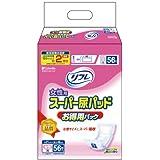 リフレ 女性用 スーパー尿パッド お得用パック 56枚(テープタイプ用)