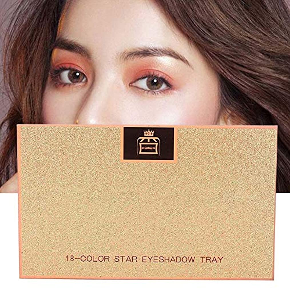 環境汚染された権限を与える18 Colors Matte Eyeshadow女性用アイシャドウ
