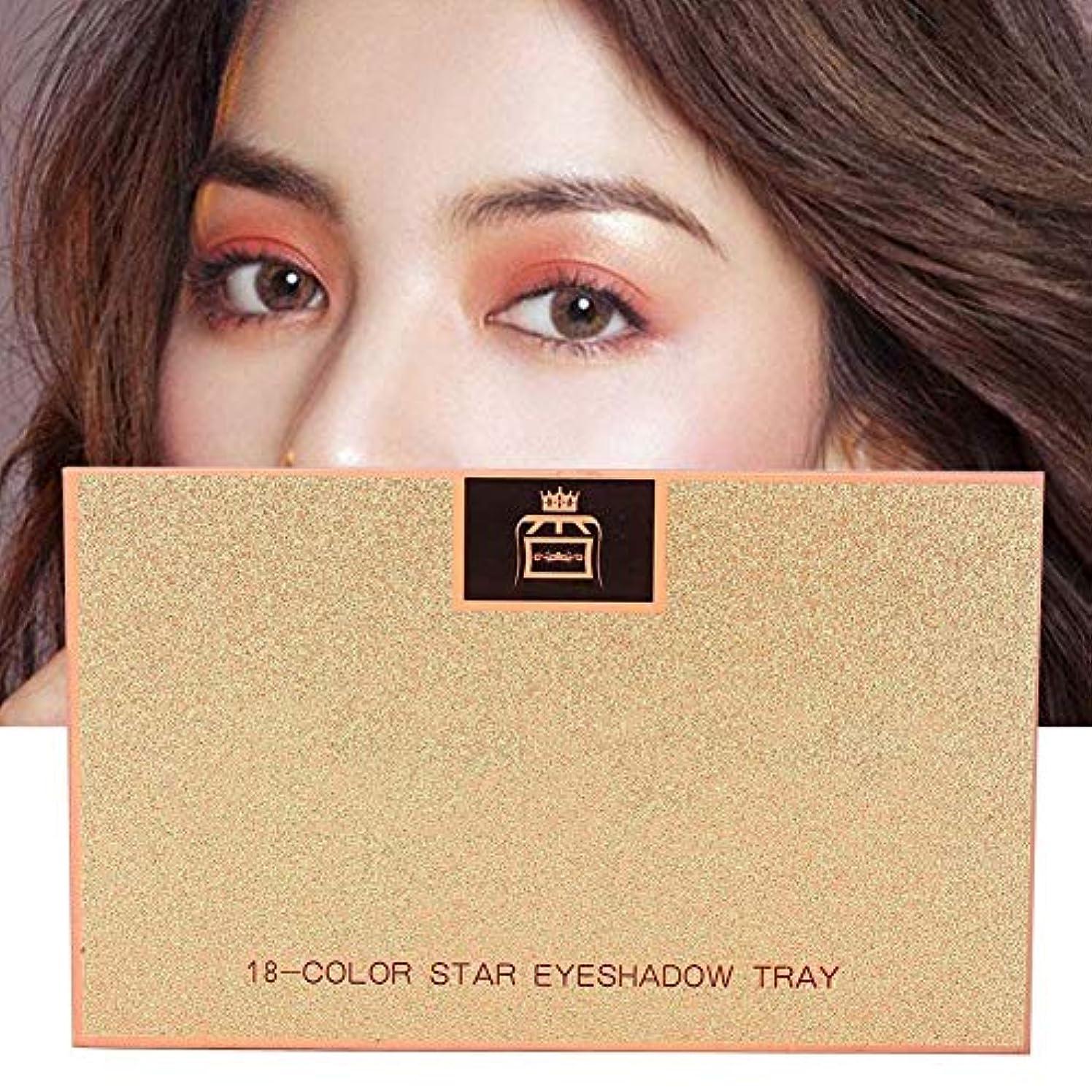 世界の窓セッション元に戻す18 Colors Matte Eyeshadow女性用アイシャドウ