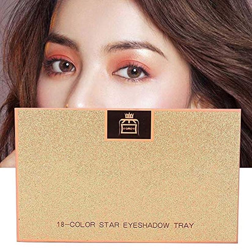 仕立て屋牧師バッフル18 Colors Matte Eyeshadow女性用アイシャドウ