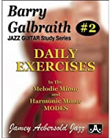 Daily Exercises in the Melodic  Minor and Harmonic Minor Modes (Barry Galbraith Jazz Guitar Study)