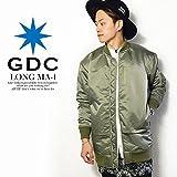 (ジーディーシー)GDC LUNA COACH JACKET KHAKI M