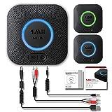 Best Bluetoothのオーディオアダプタ - 1Mii B06+ ブルートゥースレシーバー 本物の3D音効、Hi-Fiワイヤレスオーディオアダプタ Bluetooth 4.2 ホームステレオシステムサラウンド音楽ストリーミングのための低レイテンシ(APTXワーアダプタとアップグレード版) Review