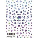 【ツメキラ】 紫陽花 ネイルシール