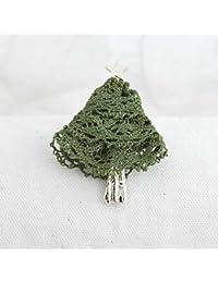 【Luccica /ルチカ】 メルレットツリー ブローチ / 【グリーン】  クリスマスツリー ツリー ゴールド 大きい かわいい