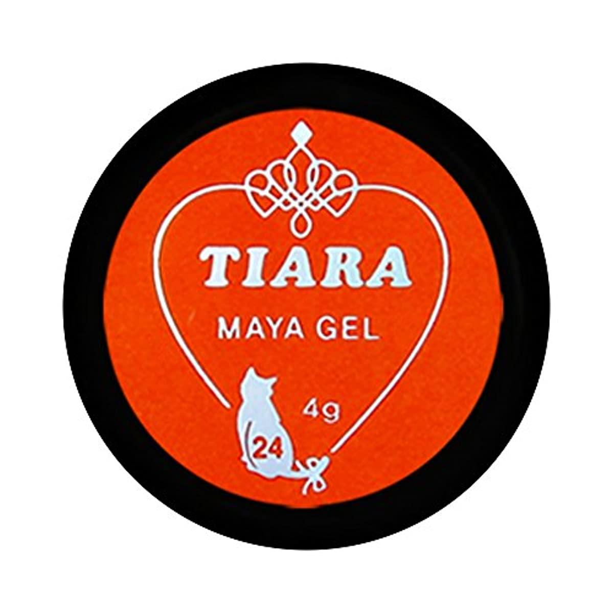 真珠のような入り口協力的グラシア ジェルネイル ティアラマヤジェル GM-024 4g  マット UV/LED対応 カラージェル ソークオフジェル