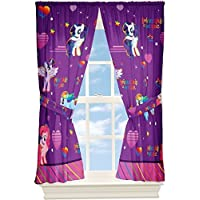 [My Little Pony]My Little Pony Window Drapes Curtains Panels, Purple and Pink B00JNV5I6S [並行輸入品]