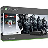 Xbox One X (Gears 5、Gears of War 1,2,3,4 ダウンロード版 同梱)