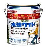 ニッペ 多用途塗料 水性フレッシュワイド アクアホワイト 1.6L