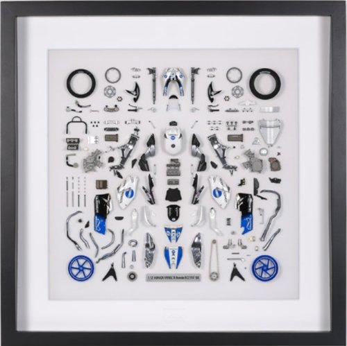 パーツパネルコレクション No.2 1/12 KONIKA MINOLTA Honda RC211V '06 パーツパネル