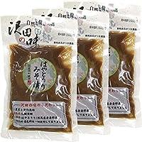 【国産原料使用】沢田の味 はやとうりみそ漬 140g×3袋セット