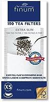 Finum 100 Tea Filters, Extra Slim (2) by Finum
