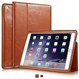 KAVAJ Apple iPad Air 2用レザーケース「ベルリン」コニャックブラウン - 本革製、スタンド機能付き
