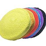 タオル グリップ ロール 10m バドミントン テニス ラケット 8色から選べます 黄 イエロー